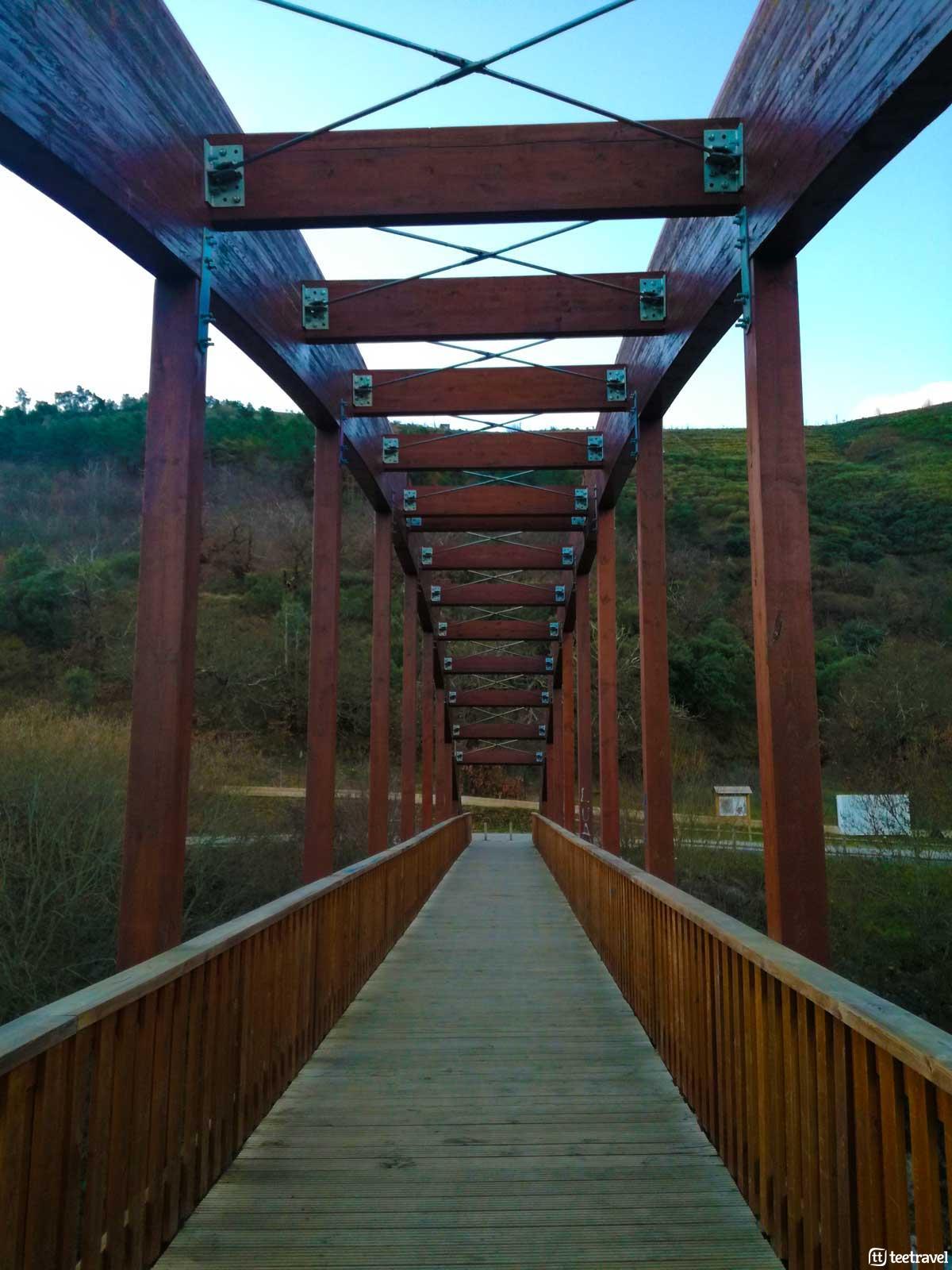 Puente en Ponferrada - Camino de Invierno