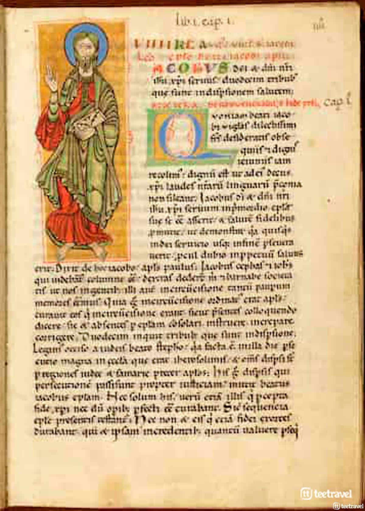Códice Calixtino o Codex Calixtinus . Archivo de la Catedral de Santiago