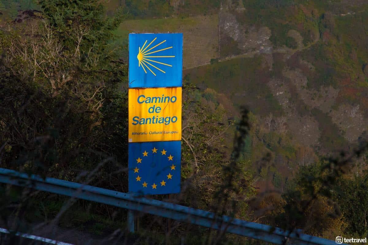 Señalización en el Camino Francés - Etapa O Cebreiro-Triacastela
