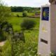 Mojón en Ligonde - Camino Francés