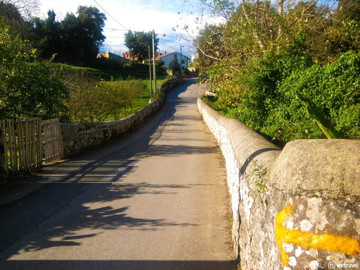 Etapa Santillana del Mar-Comillas - Camino del Norte