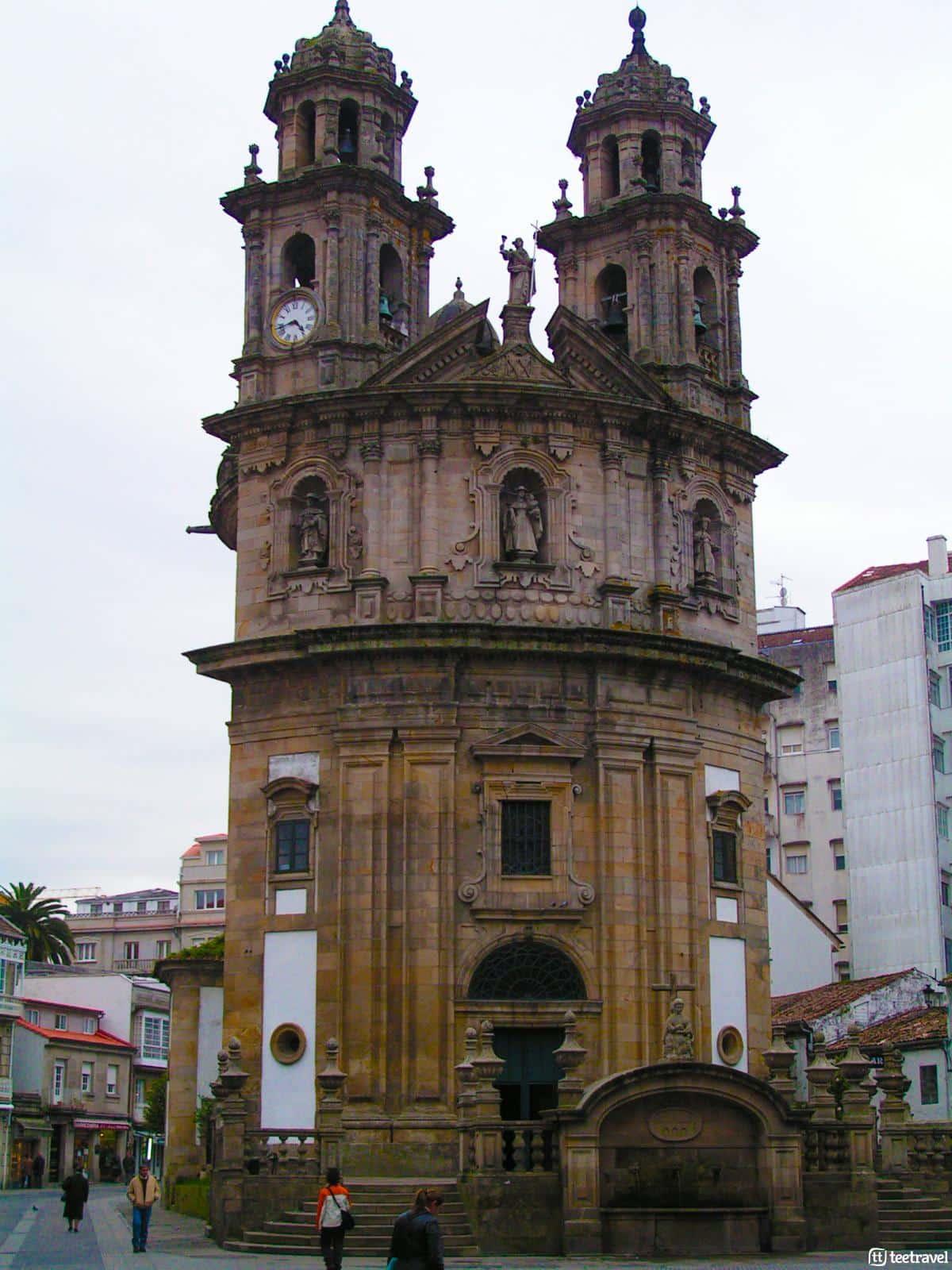 Iglesia de la Virgen Peregrina - Pontevedra - Camino Portugués
