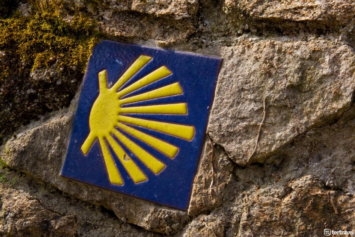 Concha de Vieira en el Camino de Santiago - Santiago de Compostela-Muxía