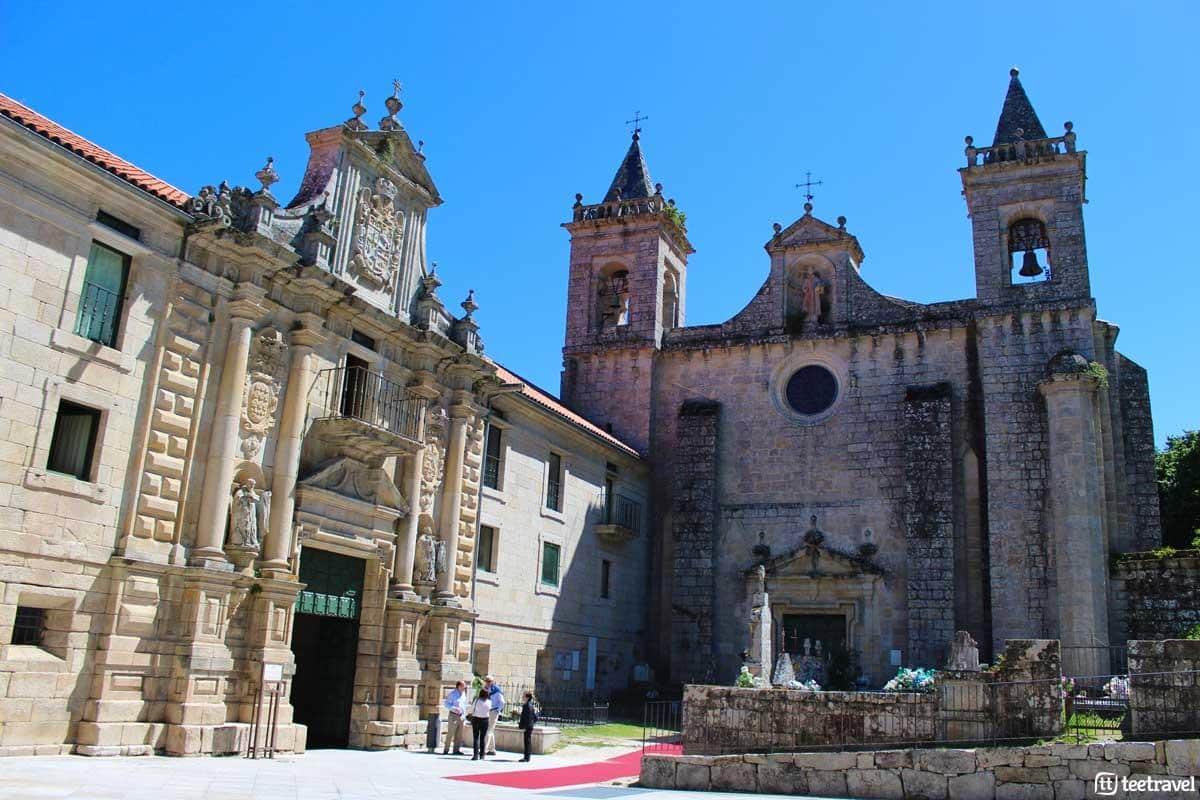 Nogueira de Ramuín (Ourense) - Monasterio de Santo Estevo
