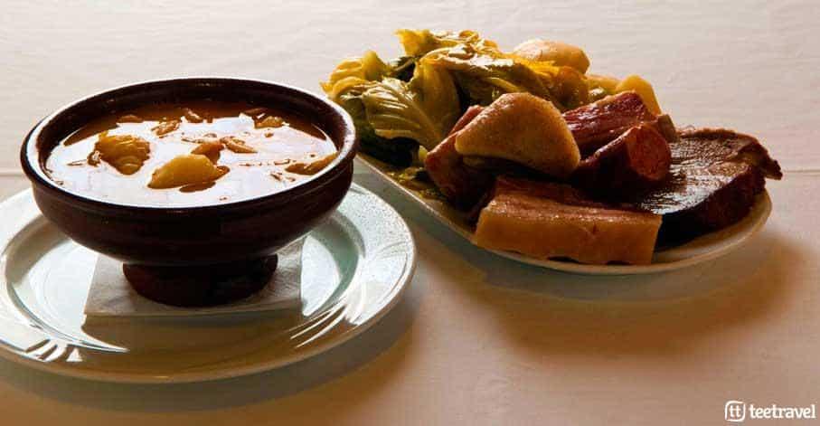 Caldo Gallego y Cocido Gallego - Plato Típico de la Gastronomía de Galicia