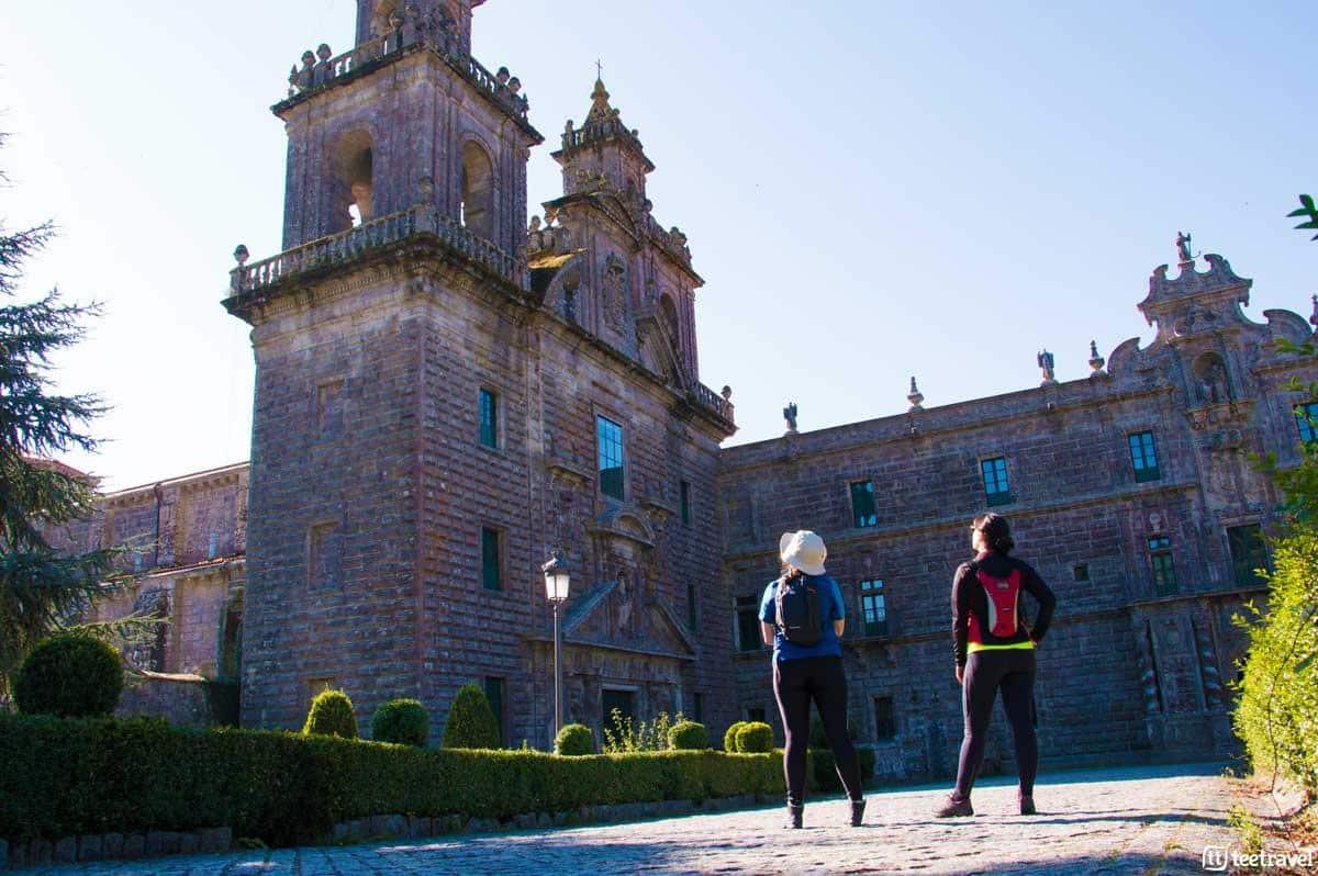 Monasterio de Oseira - San Cristovo de Cea - Vía de la Plata