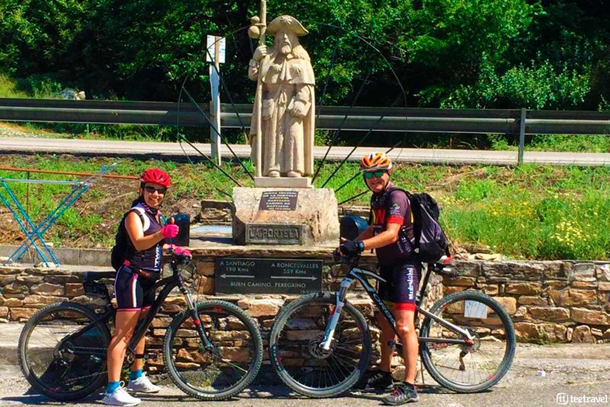 Camino de Santiago en Bicicleta - La Portela
