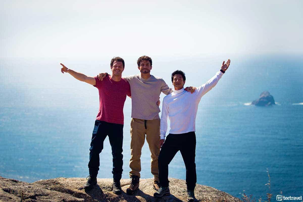 3 Caminos - Andrea Bosca (Luca) - Aléx González (Roberto) - Alberto Jo Lee (Yoon Soo)