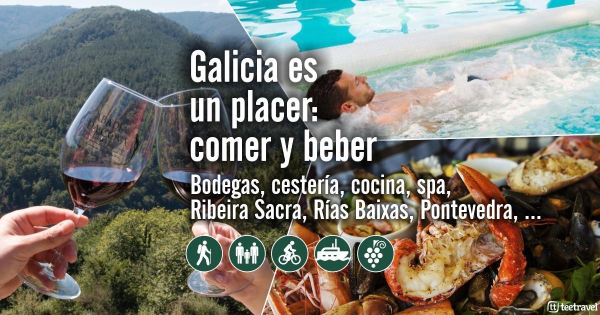 Enoturismo y Gastronomía en Galicia