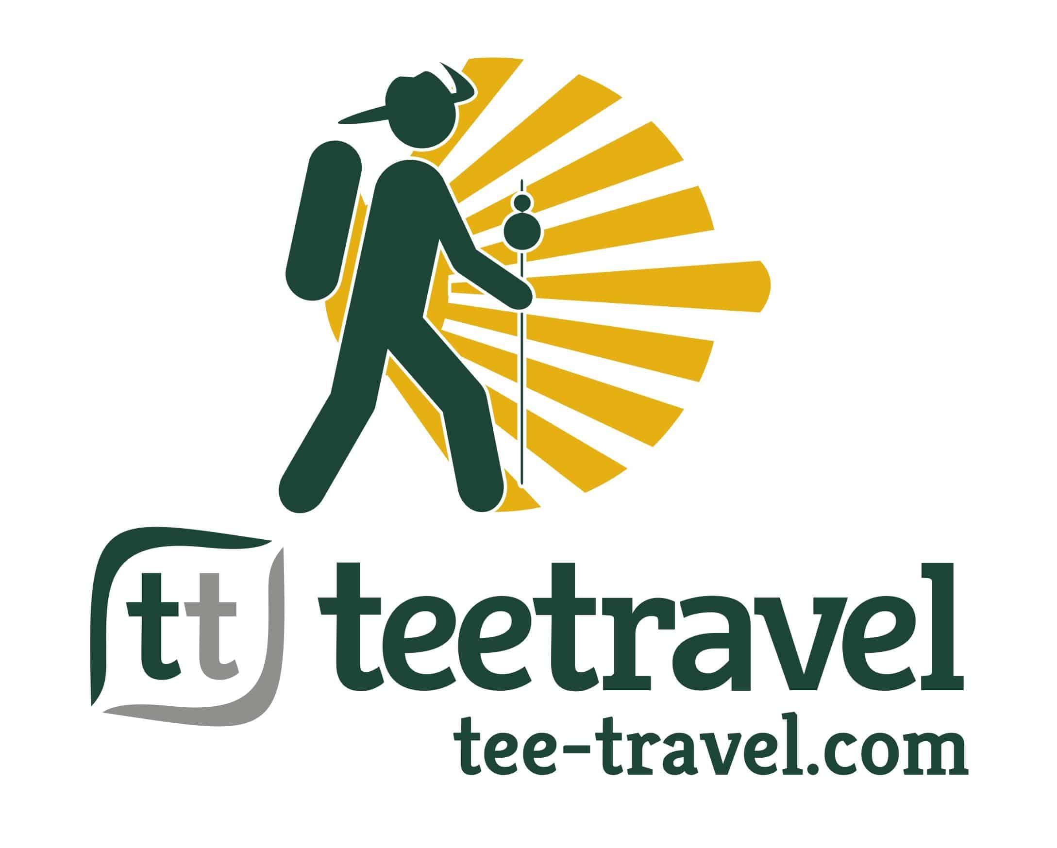 Logo Tee Travel para la Credencial Digital del Peregrino