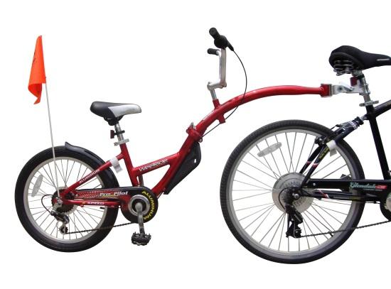 Bicicleta anclada para niños