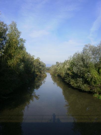 Paisaje en el Danubio