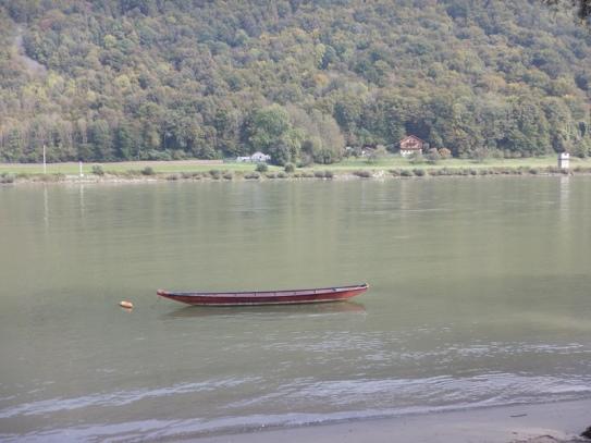 Paisaje en el Danubio entre Passau y Viena