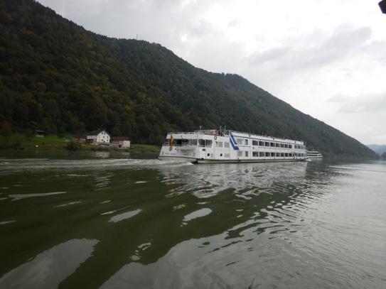 Surcando las aguas del Danubio
