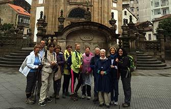 Camino Portugués a pie en grupo de Tui a Santiago