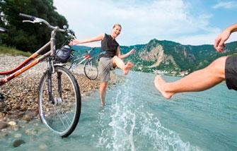 El Danubio en bicicleta variante clásica
