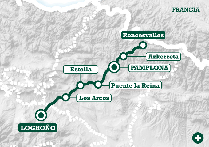 El camino de roncesvalles a logro o tee travel for Ruta del mueble sarria