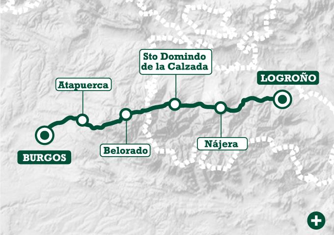 El camino de logro o a burgos tee travel for Ruta del mueble sarria