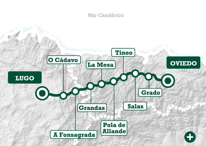 El camino primitivo de oviedo a lugo tee travel for Ruta del mueble sarria