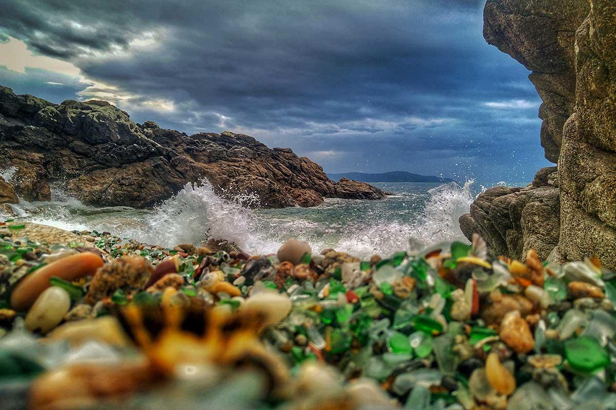Camiño dos Faros - Playa de los Cristales