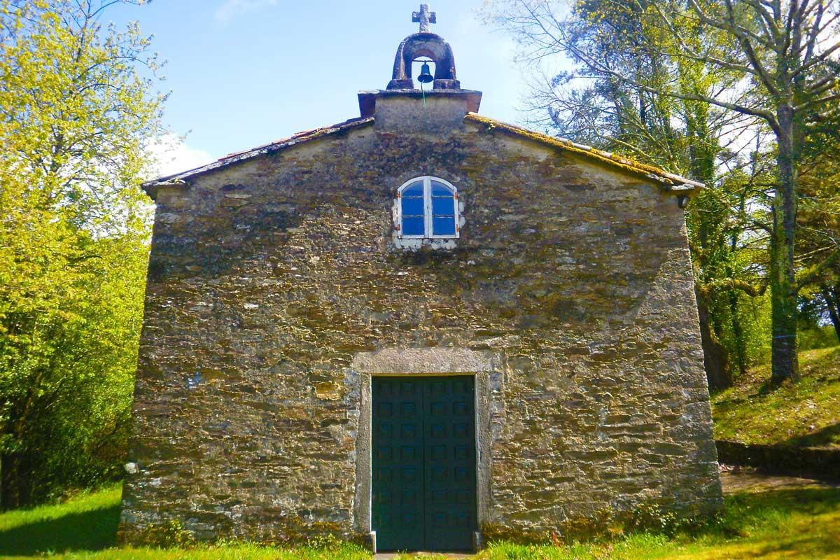 Camino Francés - Capilla de Santa Irene