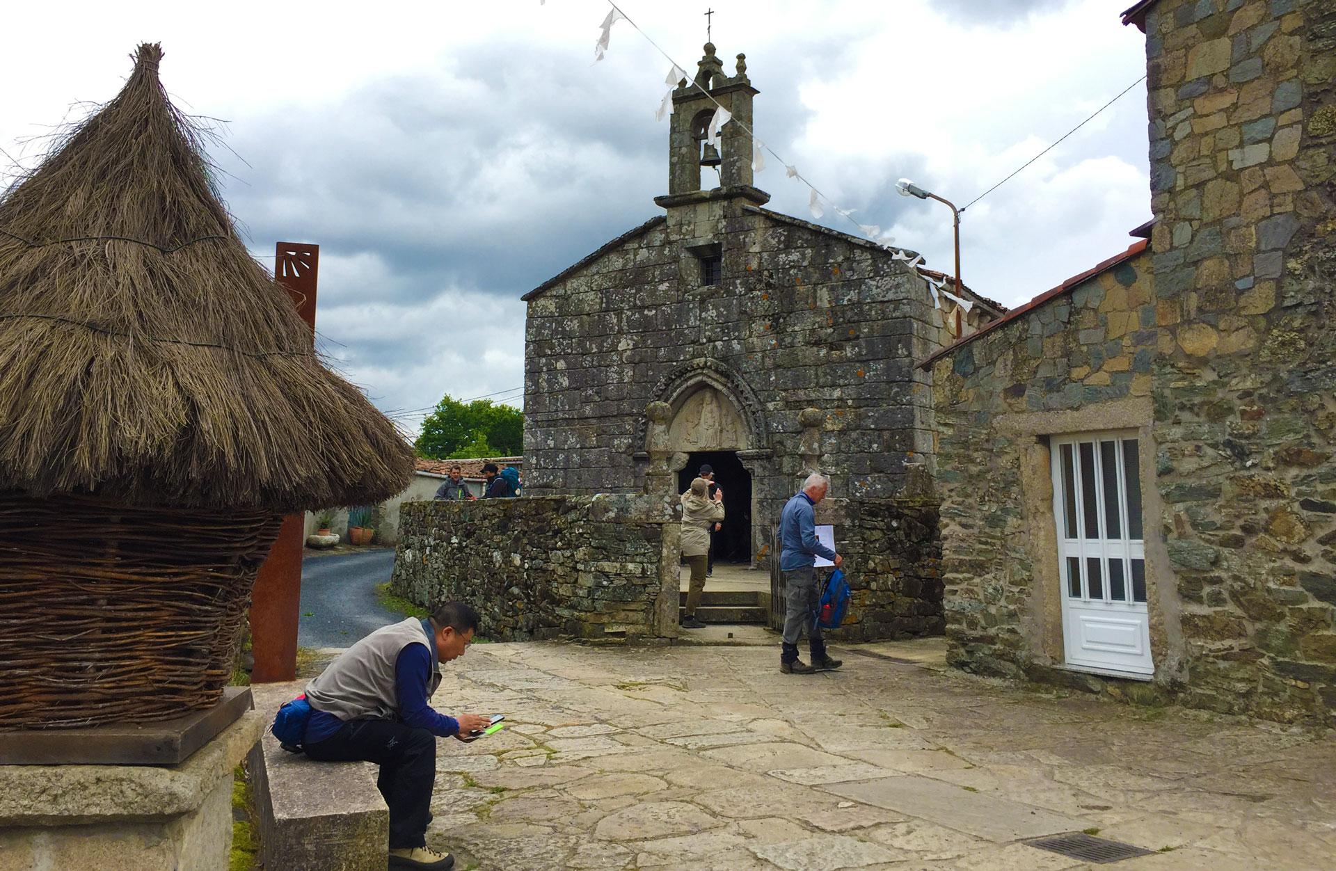 Camino de Santiago - Iglesia de Santa María de Leboreiro