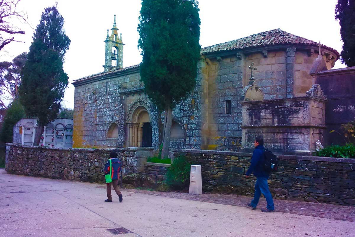 Camino Francés - Iglesia de Santa María de Melide