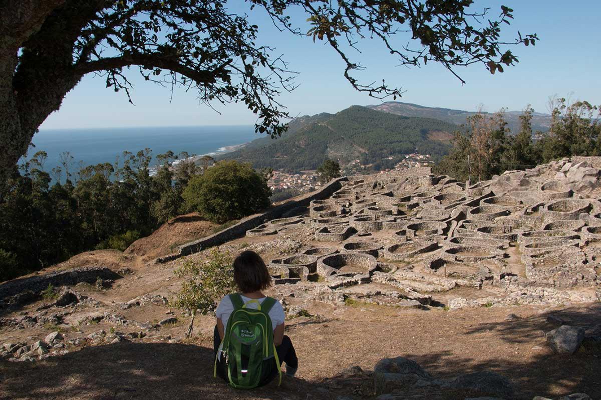 Camino Portugués por la Costa - Monte de Santa Tecla