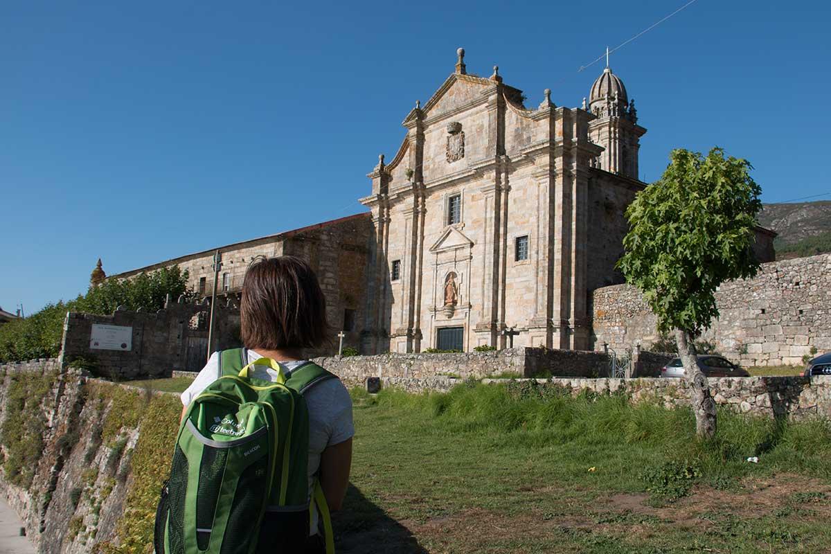 Camino Portugués por la Costa - Monasterio de Oia