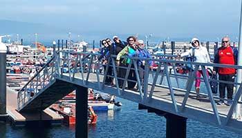 Viaje en Grupo en Barco y a Pie en el Camino Portugués