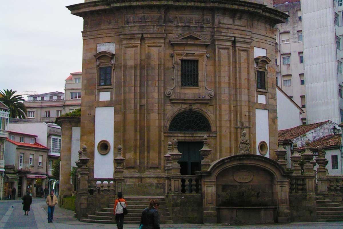 Camino Portugués por la Costa - Pontevedra - Iglesia de la Peregrina