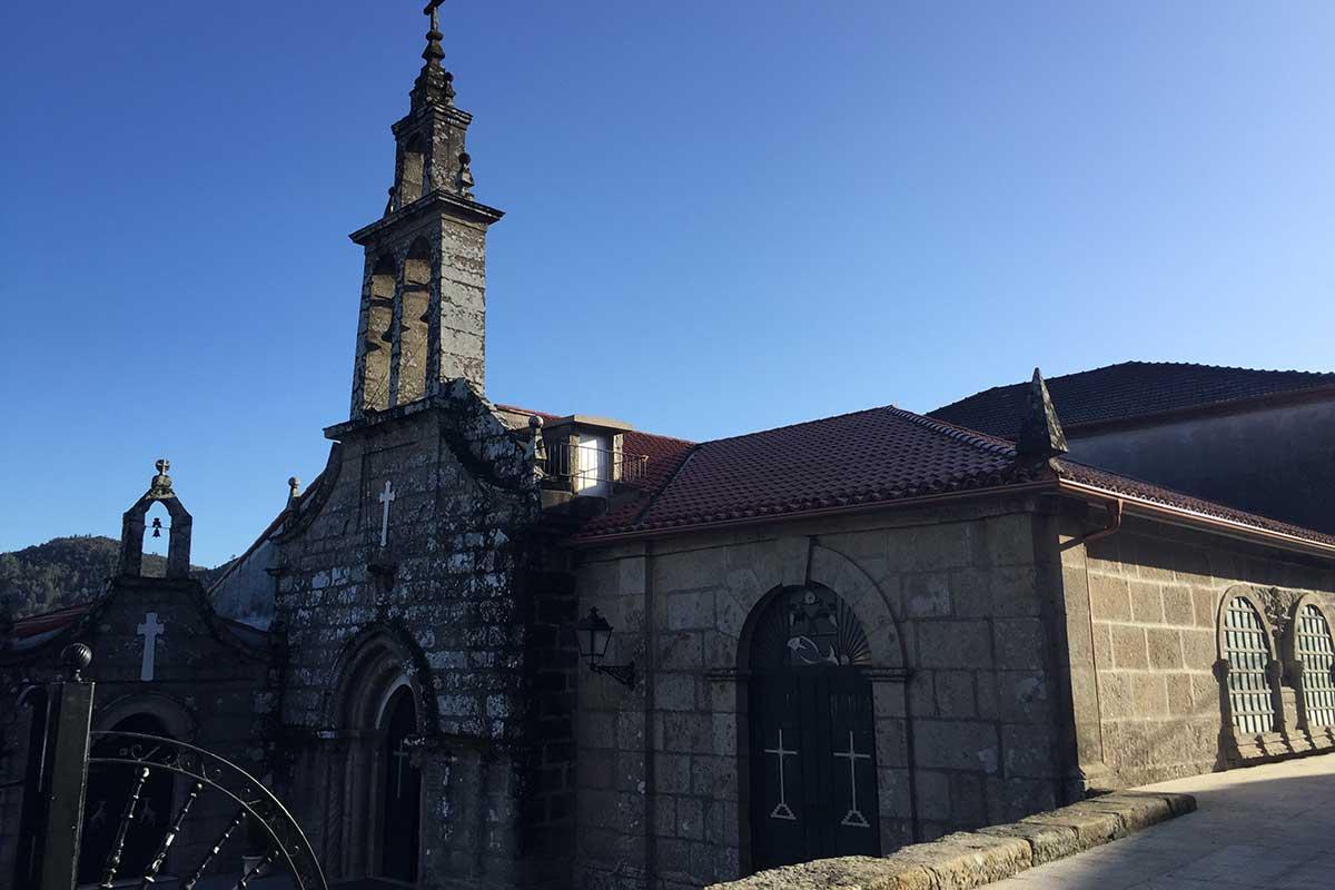 Camino Portugués - Iglesia de Santiago de Arcade