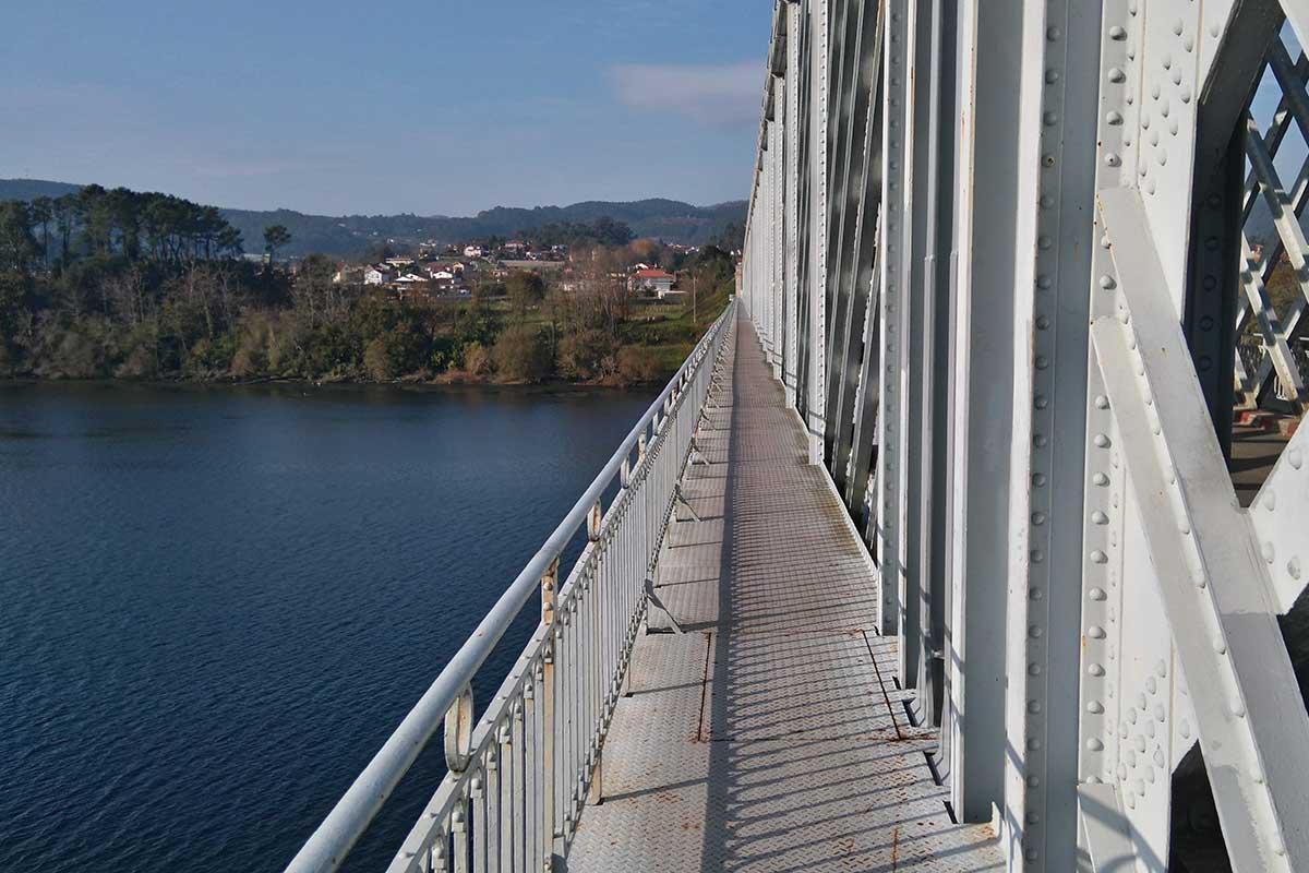 Camino Portugués - Puente Internacional Tui-Valenca do Minho