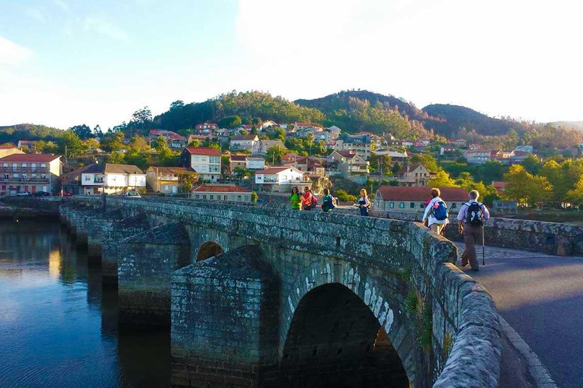Camino Portugués - Arcade - Puente de Pontesampaio