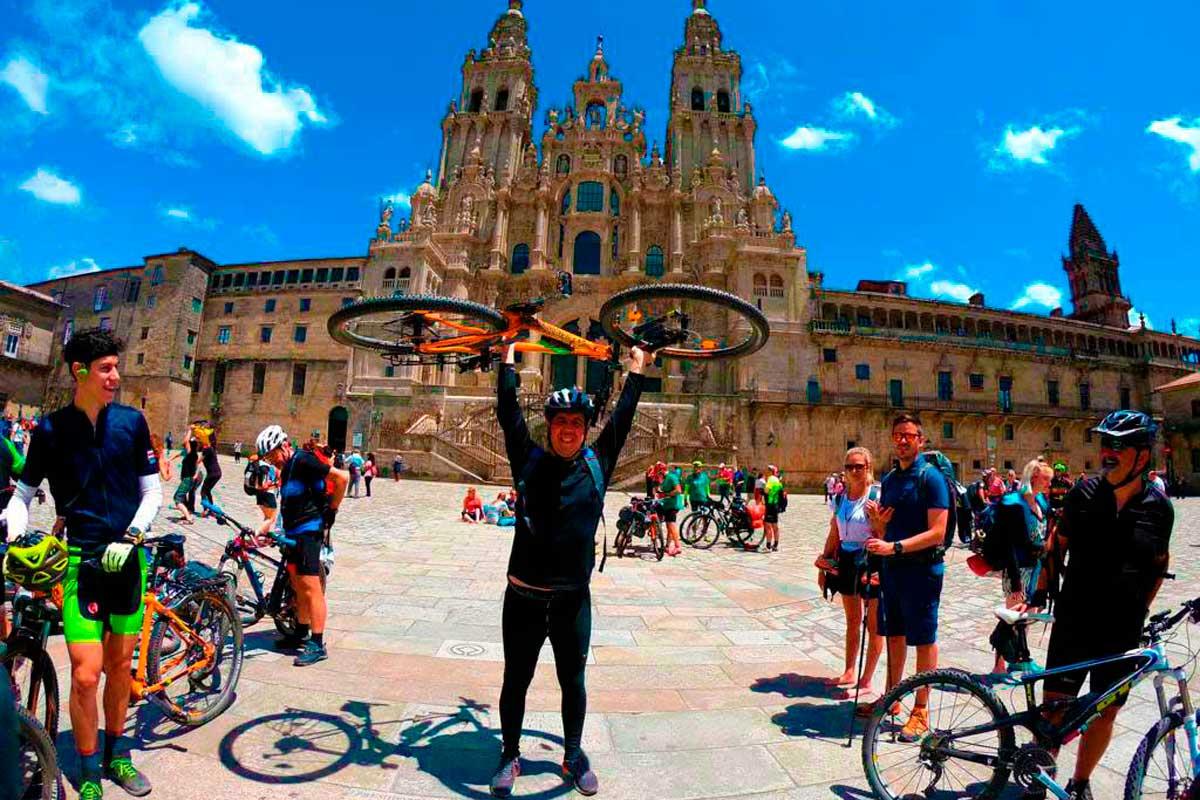 Ruta EuroVelo - Cicloturismo - Santiago de Compostela