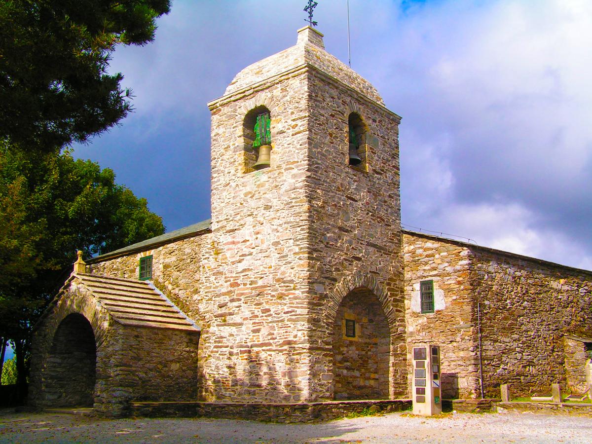 Camino de Santiago - Camino Francés - O Cebreiro - Iglesia de Santa María la Real