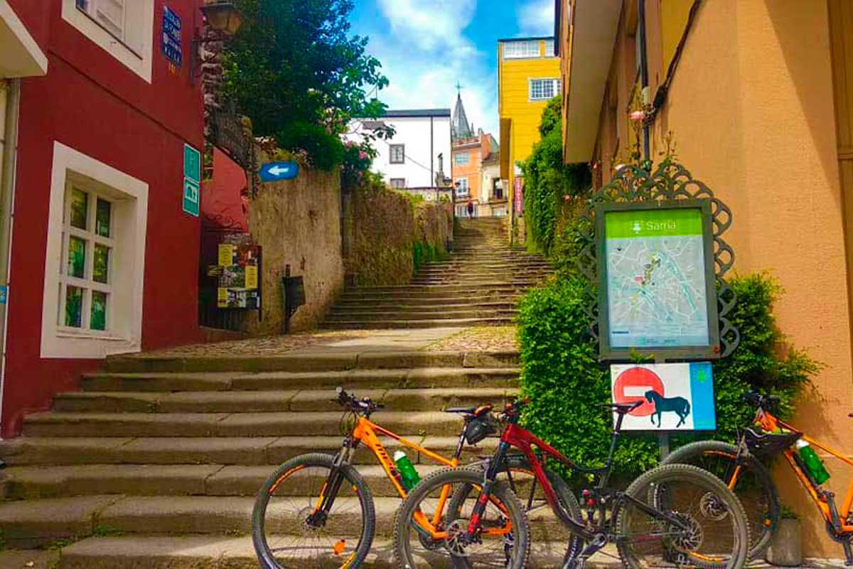 Ruta EuroVelo - Cicloturismo - Sarria