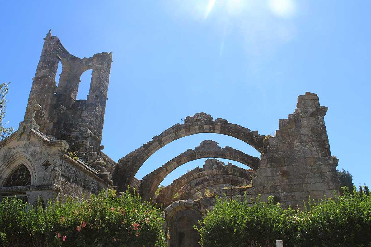 Rías Baixas - Cambados - Ruinas de Santa Mariña de Dozo