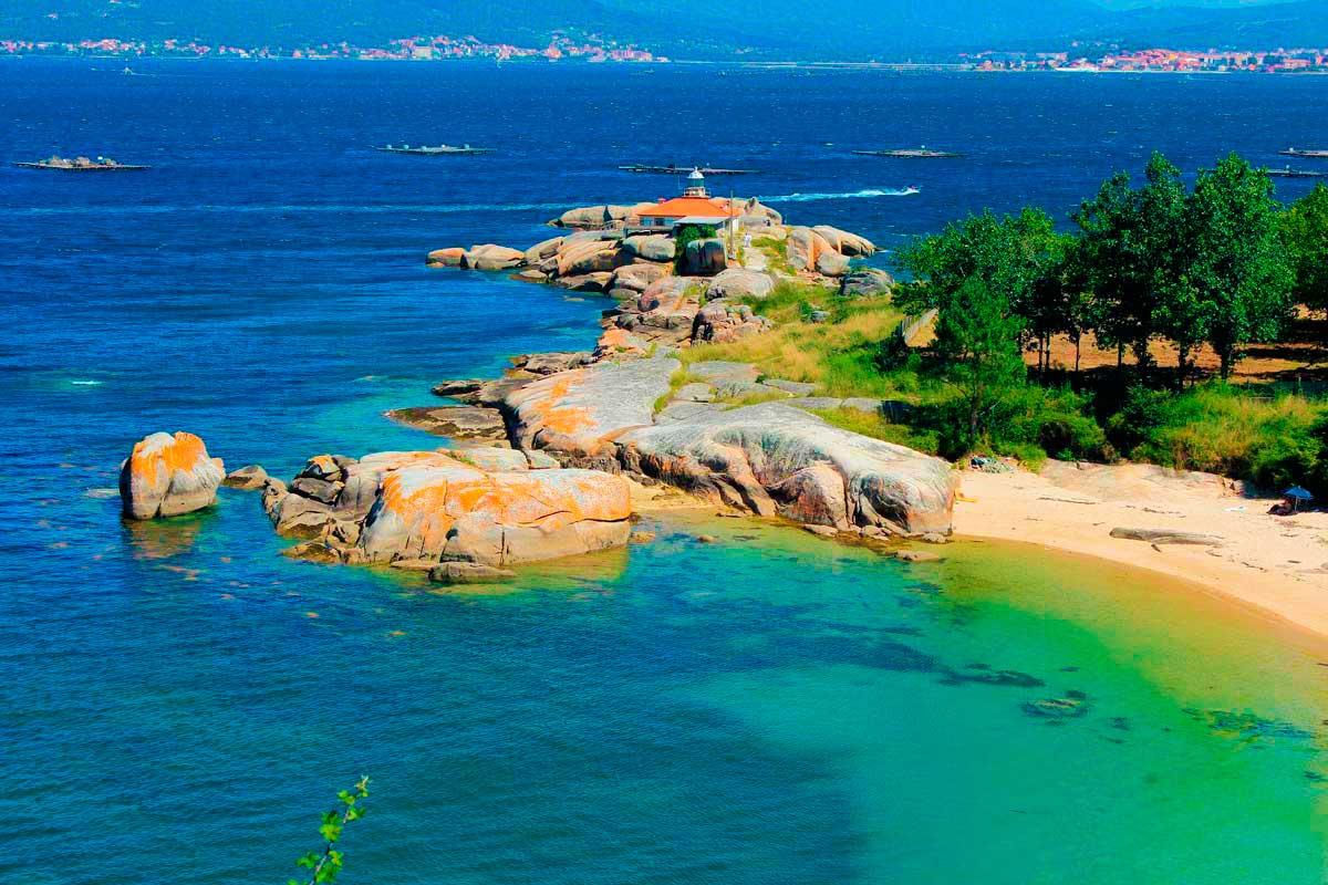 Rías Baixas - Isla de Arosa - Faro Punta Cabalo