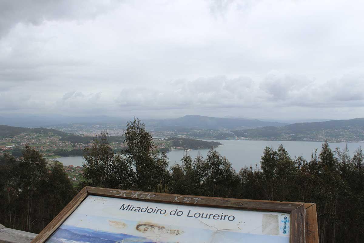 Rías Baixas - Pontevedra - Mirador do Loureiro