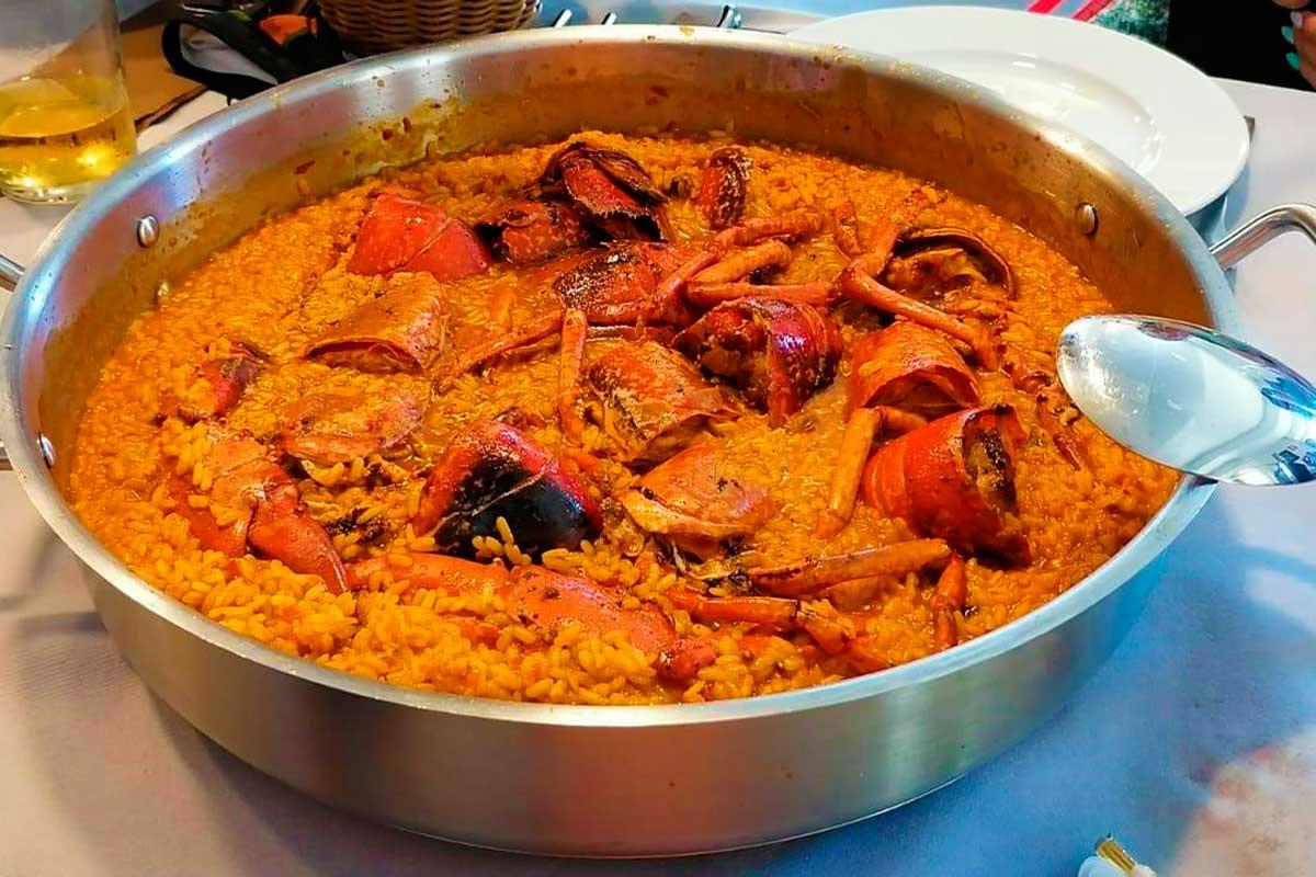 Rías Baixas - Ría de Arosa - Gastronomía - Arroz con Bogavante