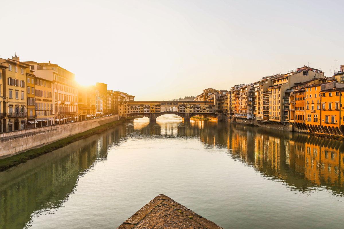Ruta de la Toscana - Florencia - Ponte Vecchio