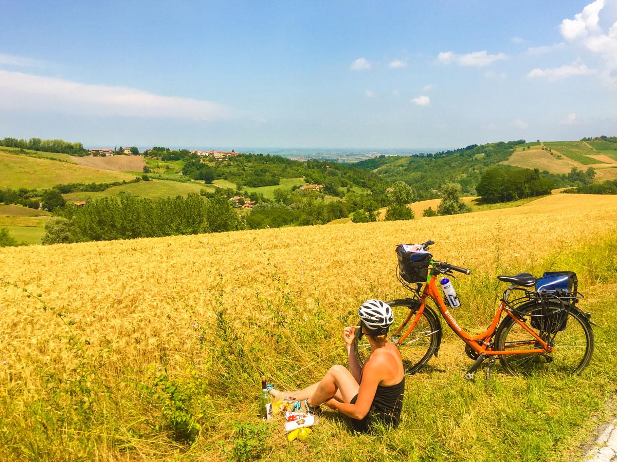 Ruta de la Toscana - Paisaje y Picnic