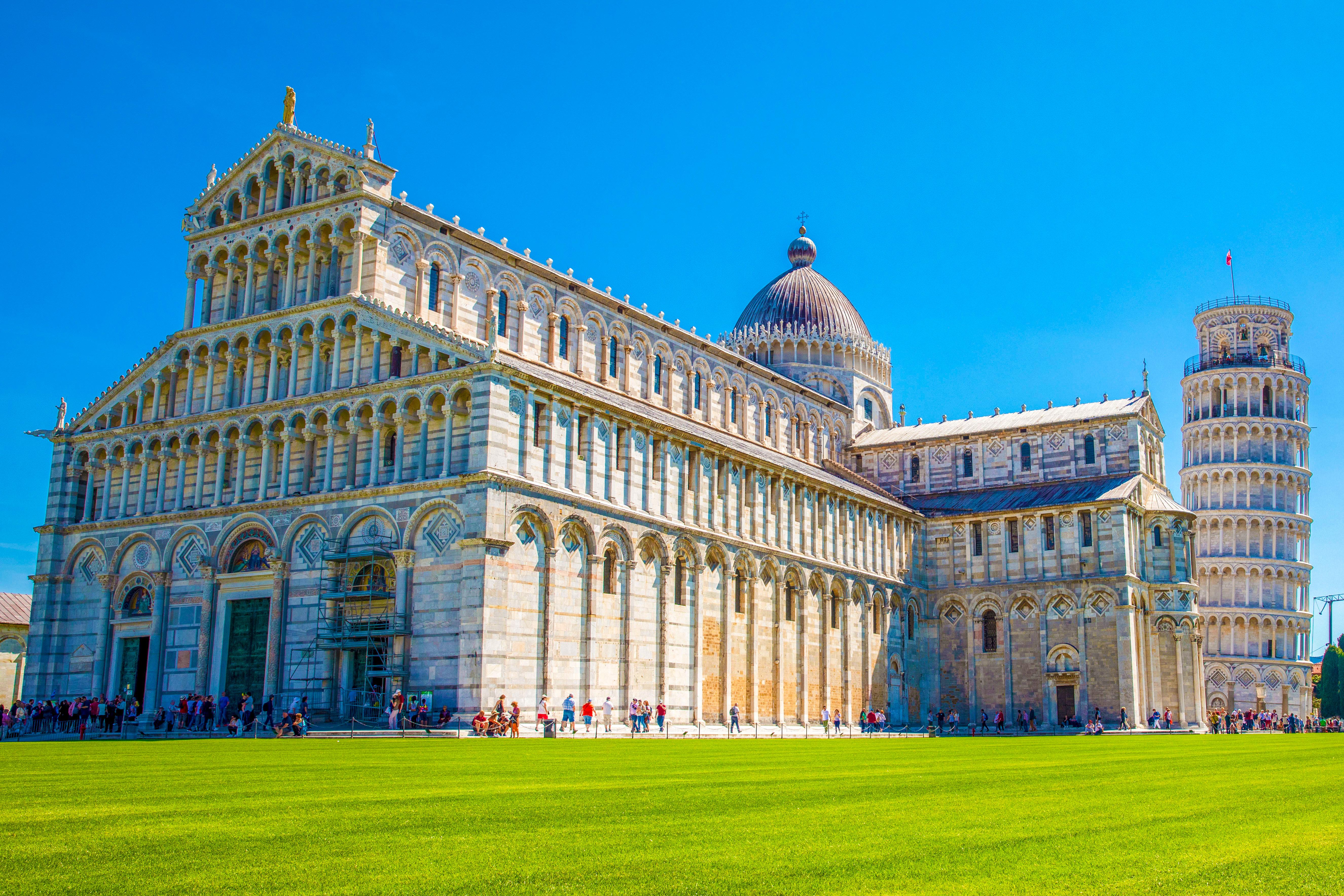 Ruta de la Toscana - Pisa - Piazza dei Miracoli