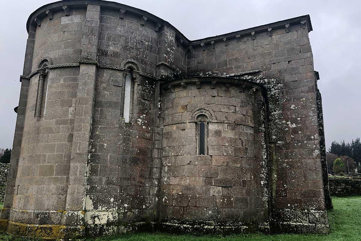Palas de Rei - Monasterio de San Salvador de Vilar de Donas