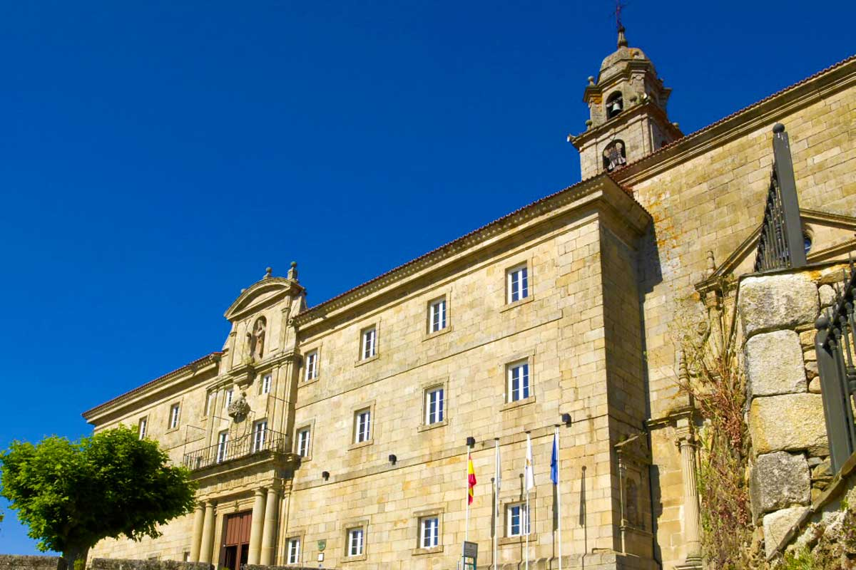 Monforte de Lemos - Monasterio San Vicente del Pino