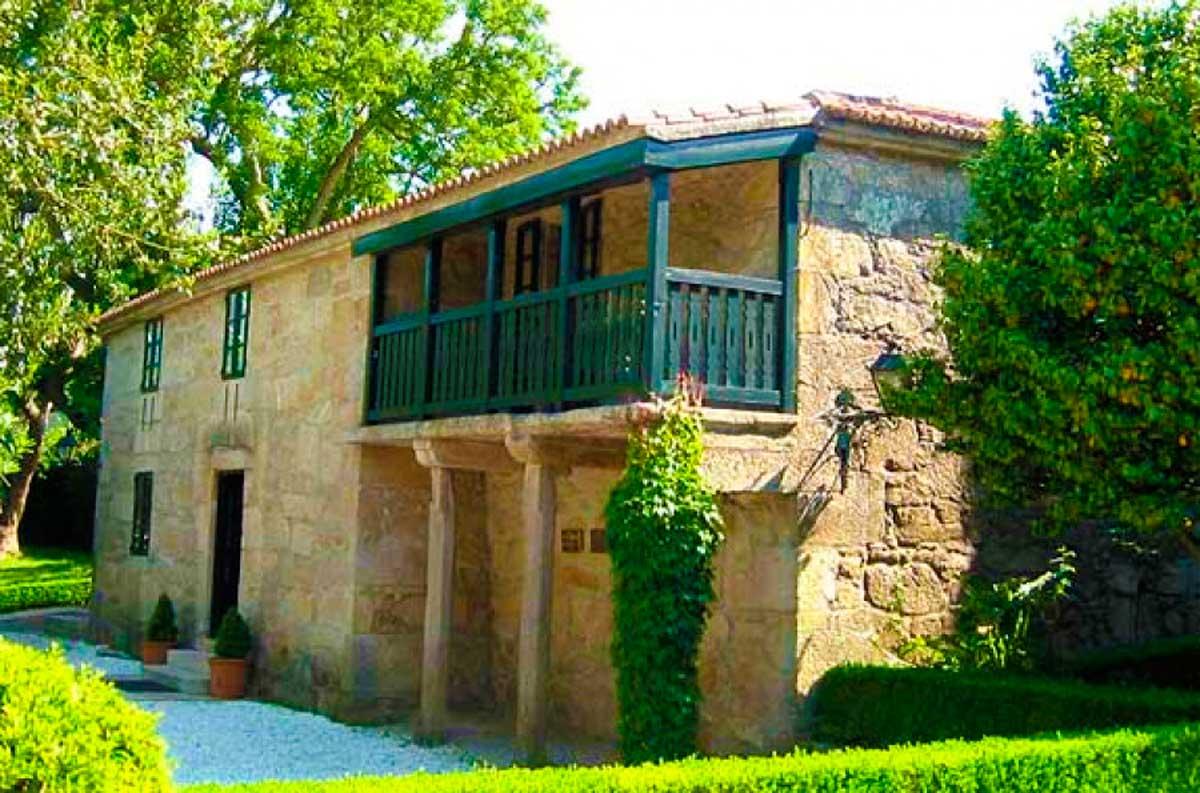 Camino Portugués - Padrón - Casa Museo Rosalía de Castro