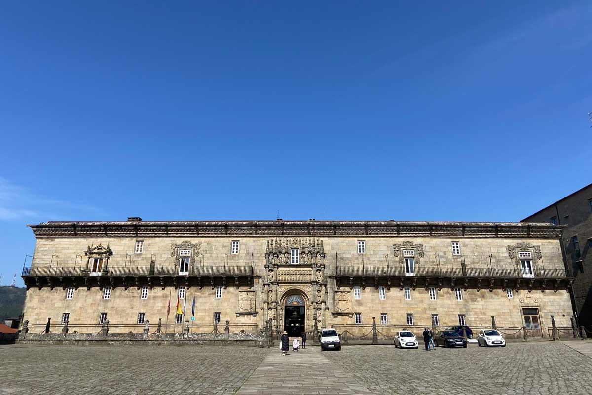 Santiago de Compostela - Plaza del Obradoiro - Parador de Santiago - Hostal de los Reyes Católicos