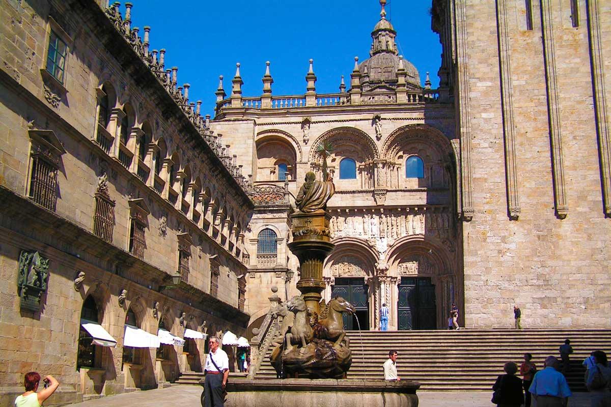 Santiago de Compostela - Plaza de Platerías de Santiago de Compostela
