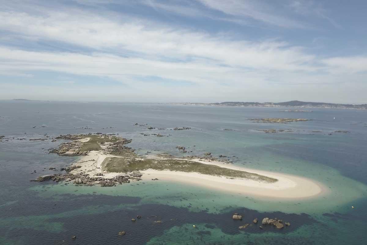 Ruta Marítima del Camino de Santiago - Isla de Areoso